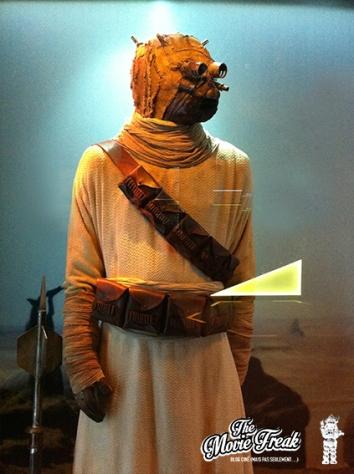 Costume d'un homme des sables de Tatooïne, appelé aussi Guerrier Tusken.