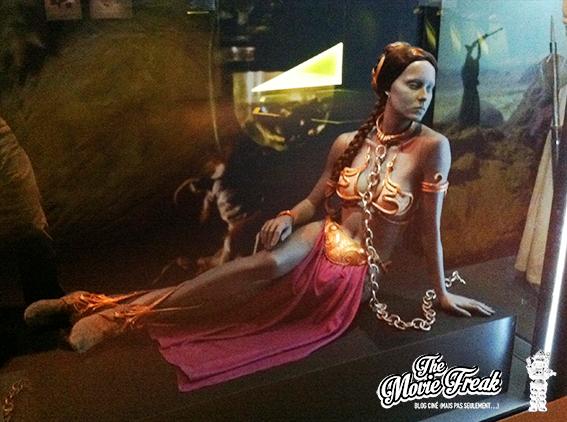 Un costume qui en aura fait fantasmer plus d'un : celui de Leïa dans le début du Retour du Jedi.