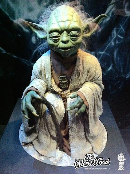 L'une des marionnettes de Yoda utilisées pour L'Empire Contre-Attaque.