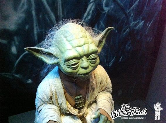 Yoda, tel qu'on peut le voir dans l'épisode V.