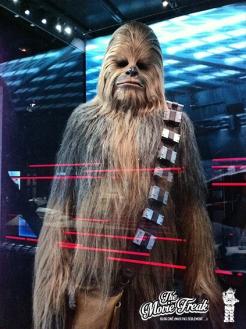 Le costume de Chewbacca tel qu'utilisé dans l'épisode III.