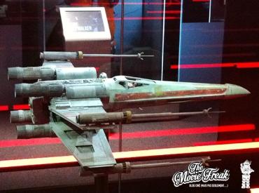 Le fameux X-Wing de Luke, aka Red 5, qui fit rêver bien des jeunes padawans !