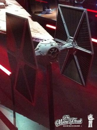 Le célèbre chasseur TIE de l'Empire : il ne manque plus que son caractéristique bruit glaçant !