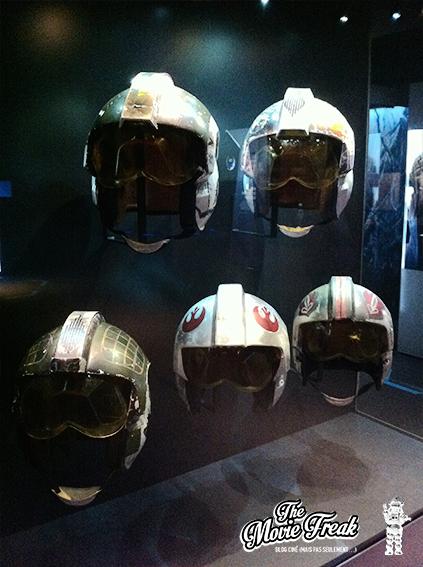 Quelques casques de pilotes rebelles.