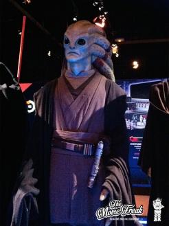 Kit Fisto, chevalier Jedi vu dans l'épisode III.