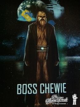 L'avatar de votre serviteur : un Wookie Jedi !