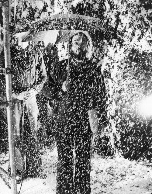Stanley Kubrick sous la fausse neige…