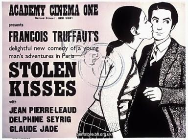 Academy Poster for Francois Truffaut's Stolen Kisses (1968)