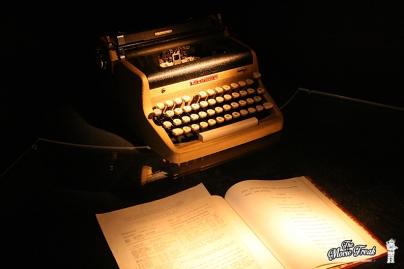 La machine à écrire de Ian Fleming, créateur et auteur des premiers romans de James Bond