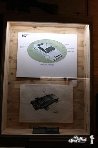 Concept arts pour la Lotus amphibie de L'ESPION QUI M'AIMAIT