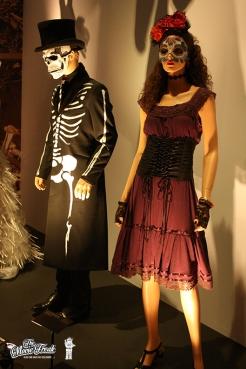 Costumes de la séquence d'intro de SPECTRE