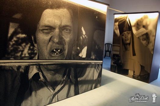Photo géante de Requin / Jaws (Richard Kiel) dans la salle des ennemis de 007